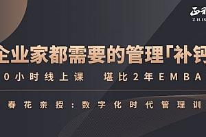 陈春花《中国企业数字化转型必修课》